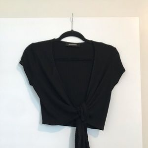 Reformation - Wrap Top with Tie - Size Small